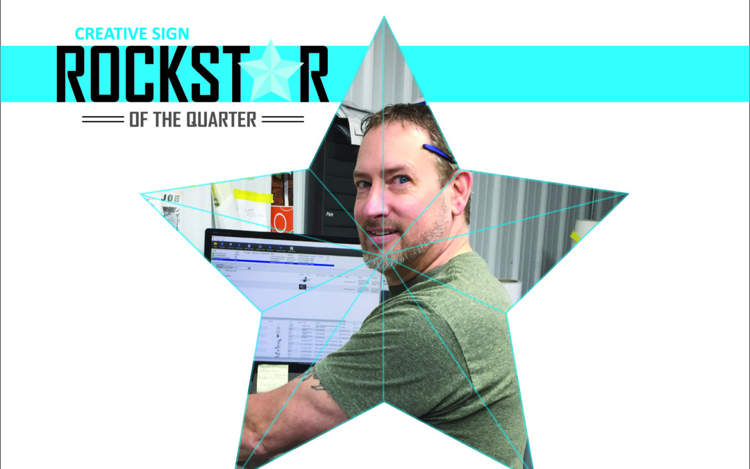 Rockstar of the Quarter, Employee Highlight, Local Sign Company, Green Bay Sign Company, WI Sign Company