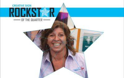 Rockstar of the Quarter:  Tracy Burkel